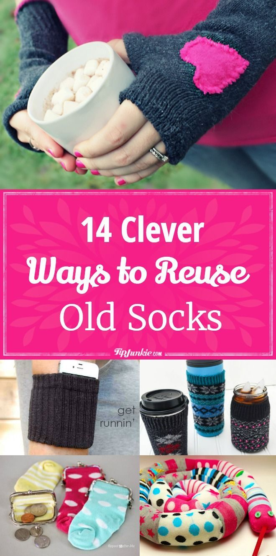 14 Clever Ways To Reuse Old Socks In 2020 Diy Und Handwerken