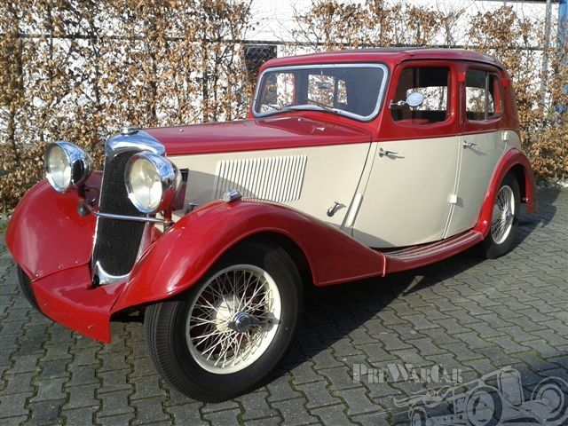 1936 Riley 12/4 Touring Saloon