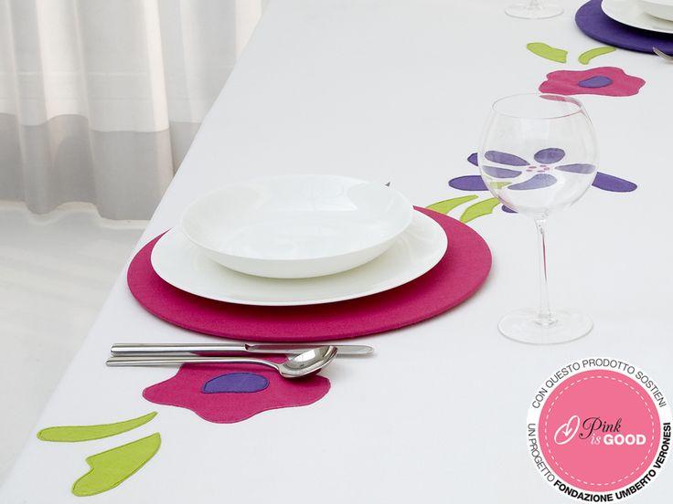 #Sottopiatto rosa. Per maggiori info contatta #Centrotavola Milano: vai sul nostro shop all'indirizzo http://shop.centrotavolamilano.it/ oppure contattaci al n° 02866641.