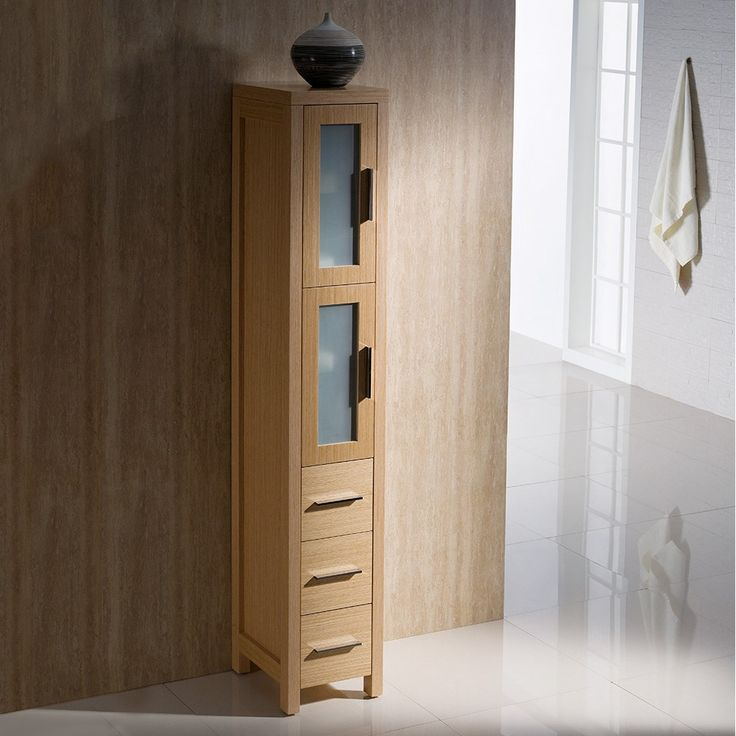 oak linen cabinet for bathrooms 1000 ideas about bathroom cabinets on 23866