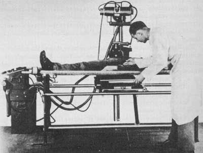 WWII Field x-ray apparatus