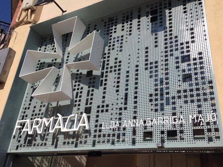 #Farmacia Garriga   Sabadell (Spain - España) #retail #shop #store #architecture…