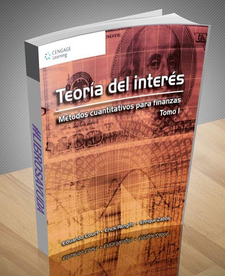 Teoría del interés – métodos cuantitativos para finanzas Tomo I – Court – Rengifo – Zabos – PDF       http://librosayuda.info/2016/09/28/teoria-del-interes-metodos-cuantitativos-para-finanzas-tomo-i-court-rengifo-zabos-pdf/