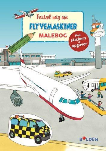 Malebog - Fortæl mig om flyvemaskiner