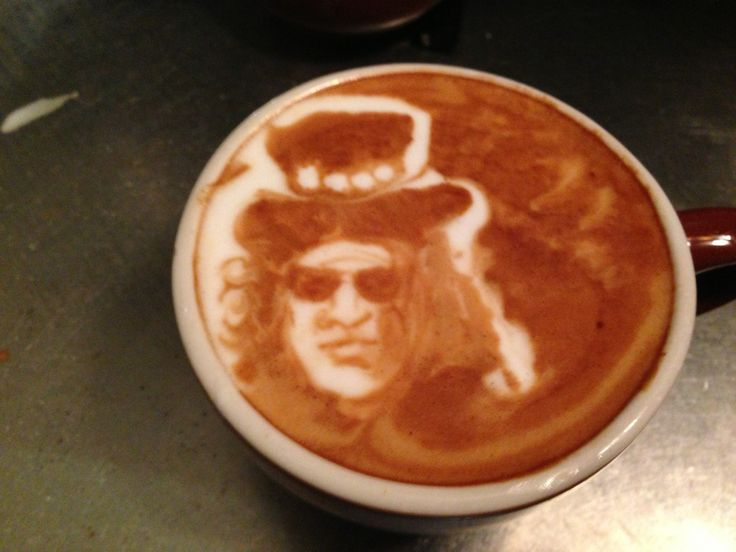 Cool 77 Cappuccino Art, it just looks Stunning!