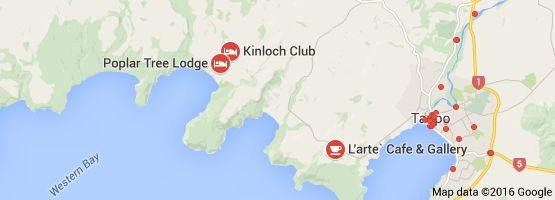 Map of kinloch cafe