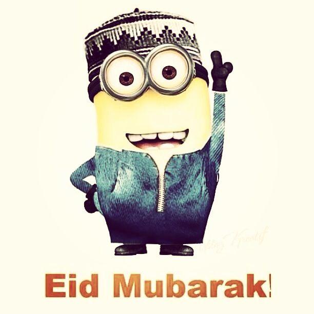 Eid Mubarak, minion style
