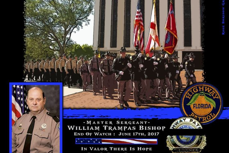 Colonel Gene Spaulding, Director of the State Highway Patrol in Florida sadly reports the death of Master Sergeant William Bishop. https://www.lawenforcementtoday.com/memoriam-master-sergeant-william-bishop/