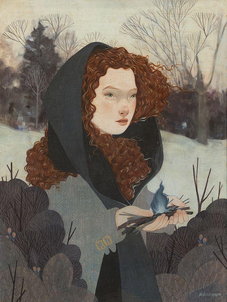 Las preciosas ilustraciones de la artista americana Rebecca Green.            — REBECCA GREEN