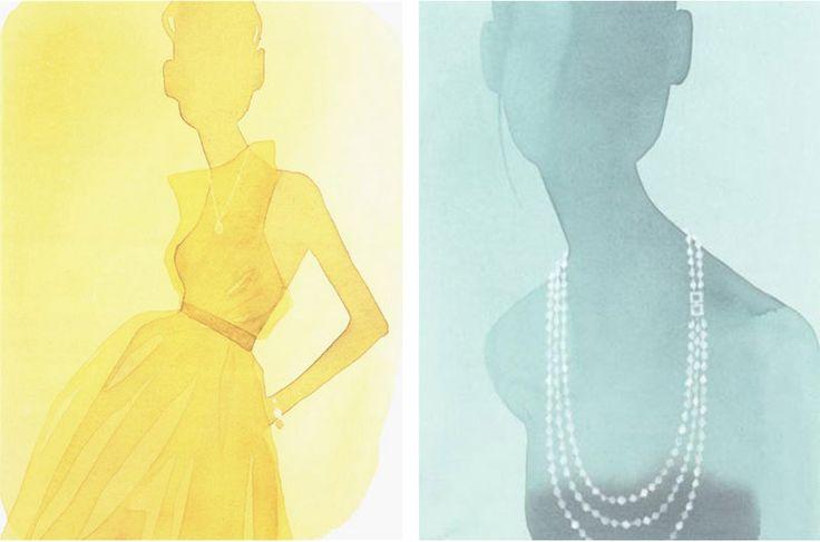 L'acquerello è di moda nelle illustrazioni di Mats Gustafson