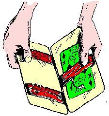 2-2 Toverboekje. Saul raadpleegt waarzegster. Goochelen kan leuk zijn, maar occultisme is levensgevaarlijk!