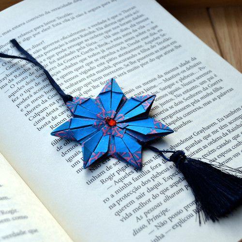 #retroatticstore #origami #paper #paperart #bookmark #flower #origamiart