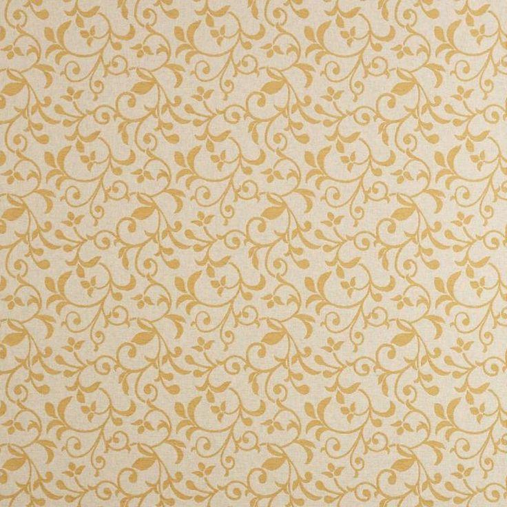Warwick Fabrics : KYNETON, Colour BUTTERCUP