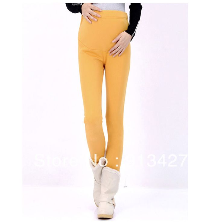 2015 Hot Selling Maternity Leggings Pregnant Women Fashion Cotton Pants Autumn/Winter Plus Velvet Thick Warm Trousers