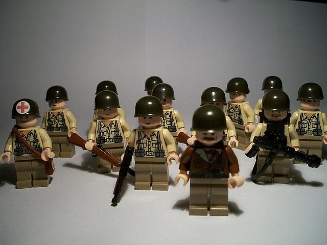 lego wwii american army lego pinterest les militaires impressionnant et seconde guerre. Black Bedroom Furniture Sets. Home Design Ideas