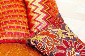 Výsledek obrázku pro colorful pillow