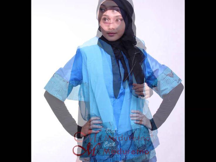 Baju Kerja Batik untuk Wanita Modern, Maduretno Nusantara