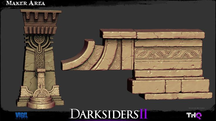 Darksiders 2 Environment Art - Polycount Forum