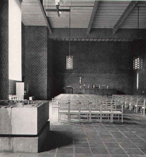 Peter Celsing - St. Thomas Kirche, Vällingby - TÉCHNE