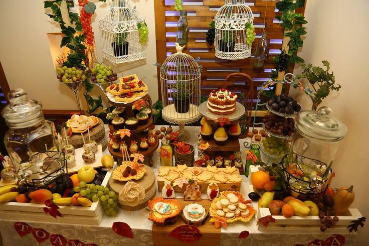 Fall Sweet Table