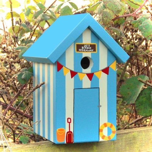 Handmade Beach Hut Bird Box 1.jpg (500×500)