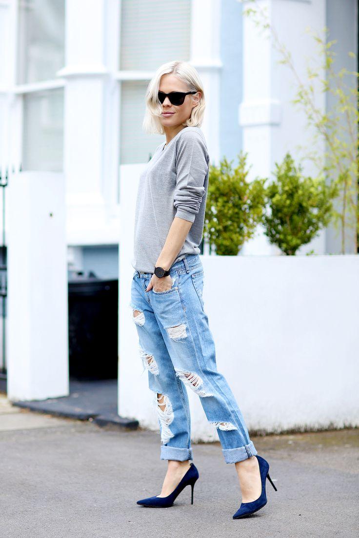 69 best images about Boyfriend jeans on Pinterest | Boyfriend ...