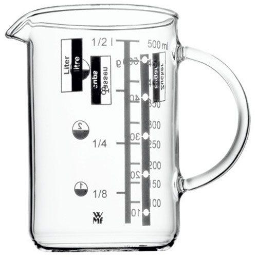Målebeger/Kanne i glass, 0,5 l - WMF - WMF - RoyalDesign.no
