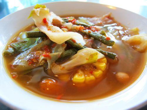 Resep sayur asem jawa recipes soup pinterest for Resep canape kontinental
