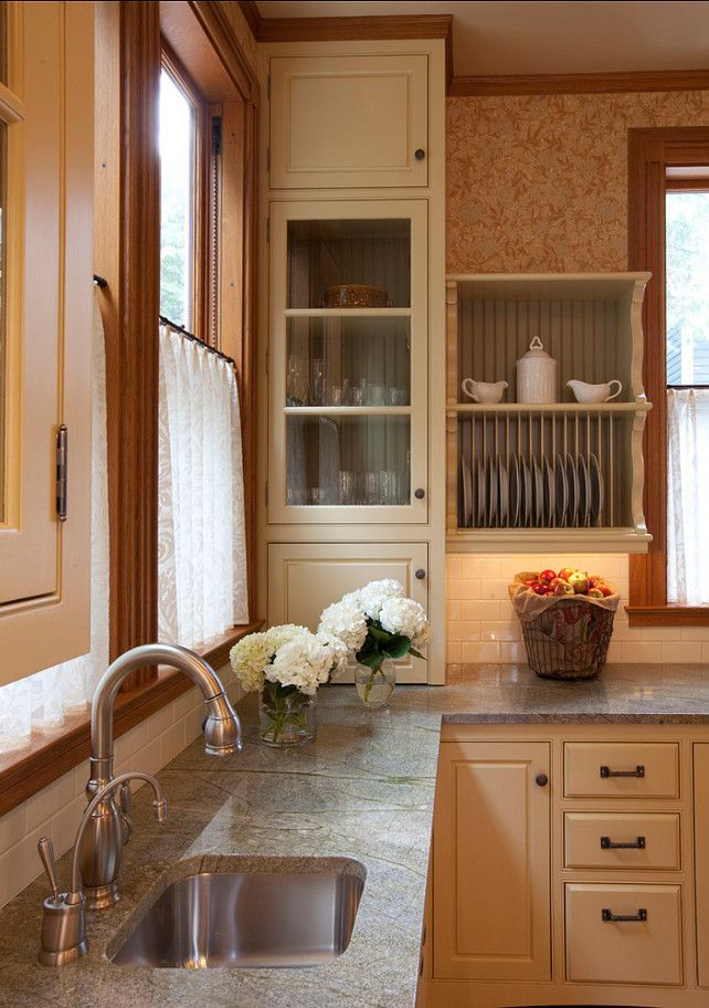 Kitchen Cabinet Paint Color: Adams Gold HC-18 by Benjamin Moore