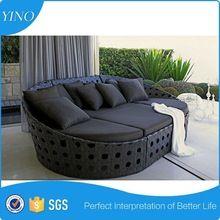 Tamanho grande e moderna de vime conjunto conforter mobília da sala de estar HC1002