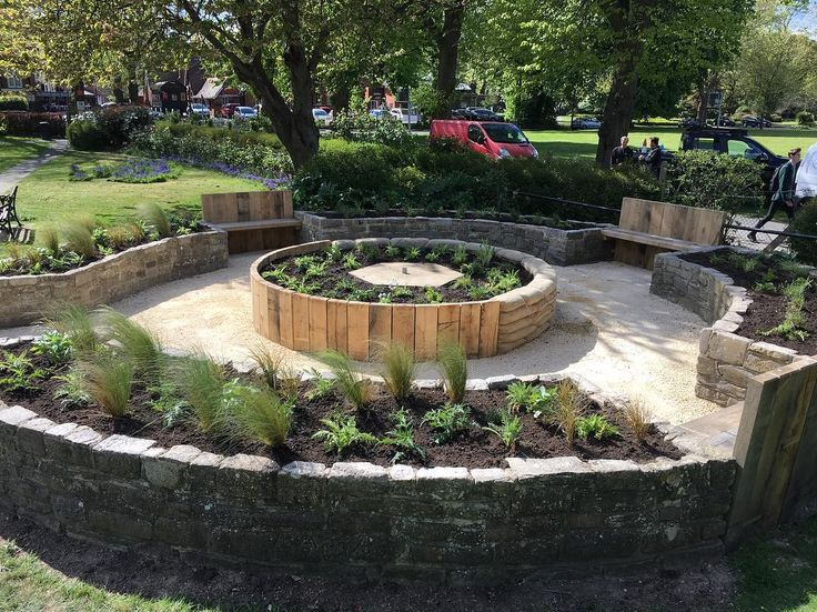 """77 Likes, 1 Comments - Andy Stedman Landscape design (@andy_stedman_garden_design) on Instagram: """"Planting completed today at our #chichester city council memorial garden.  #garden #landscapedesign…"""""""