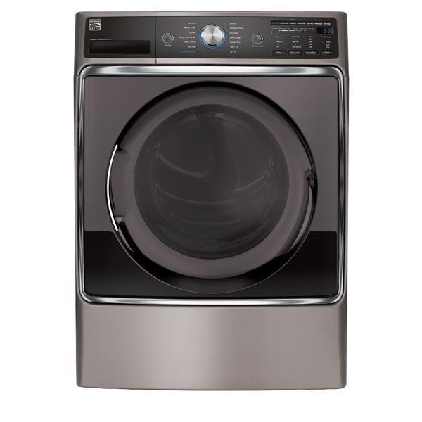 Kenmore Elite 91073 9.0 cu. ft. Gas Dryer - Metallic Silver