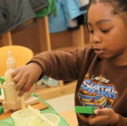 Read about the latest research on play, play based learning, why play is an important part of children's learning and development, the role of play in the classroom and ideas to share with families.