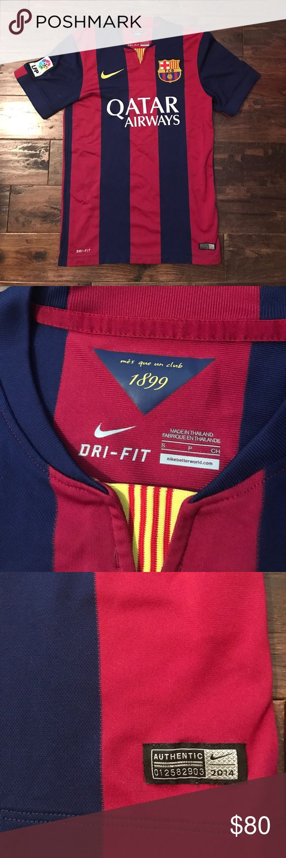 Barcelona jersey authentic Excellent condition. No signs of wear at all. Nike Shirts