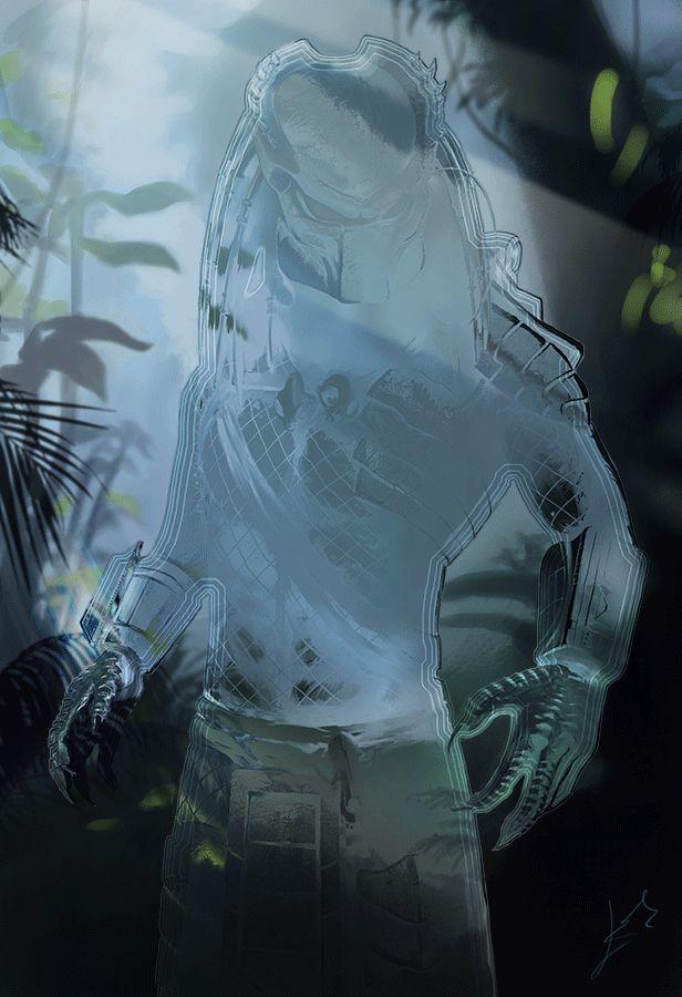 Predator GIF by LLirik-13 The Hidden Enemy