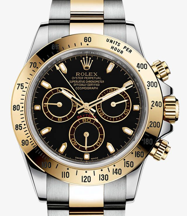 b24bc5823d4 Rolex Cosmograph Daytona Watch  Yellow Rolesor - combination of 904L steel  and 18 ct yellow