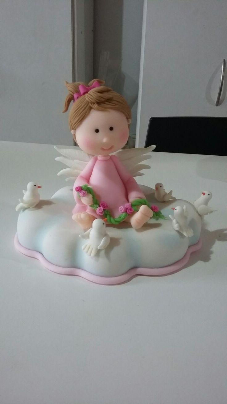 Adorno torta bautismo