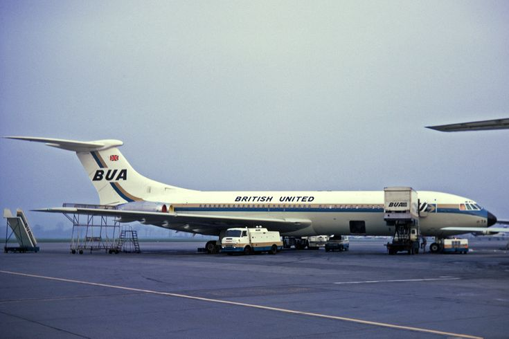 BUA British United Airways VC-10
