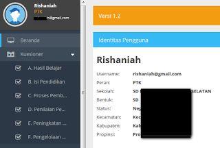 menu tukar pengguna aplikasi SIM pengguna