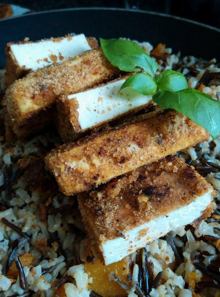 Grilovane tofu marinovane v korenene omacce
