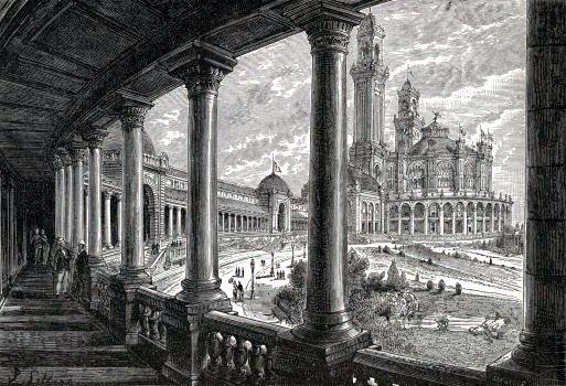 Promenade du Palais du Trocadéro.