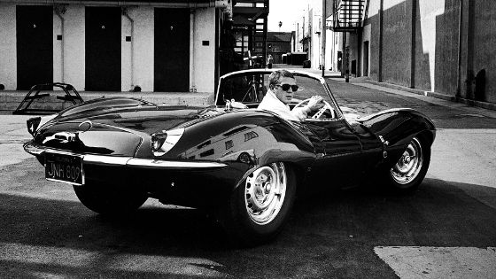 Jaguar XKSS (1957) - Comes with Steve McQueen, what more could you ask for?
