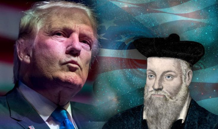 NOSTRADAMUS predicted Donald Trump's election as President of the United States and said it will also herald the end of the world, claim conspiracy theorists.