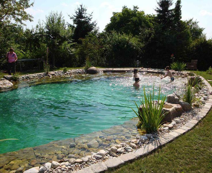 die 527 besten bilder zu natural pool schwimmteich auf pinterest schwimmen schwimmb der und. Black Bedroom Furniture Sets. Home Design Ideas