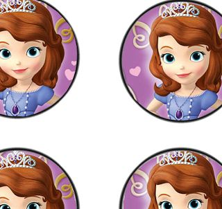 Free Sofia The First Birthday Party Decor Printables