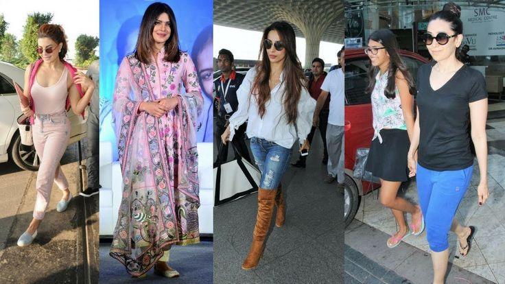 Priyanka Chopra, Kriti Sanon and Kareena Kapoor Spotted Out and About