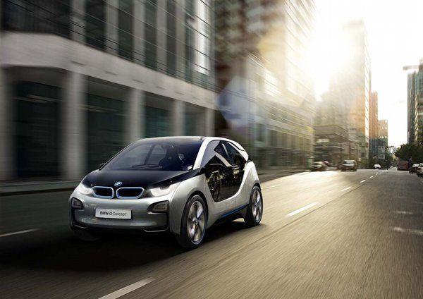 electric BMW i3