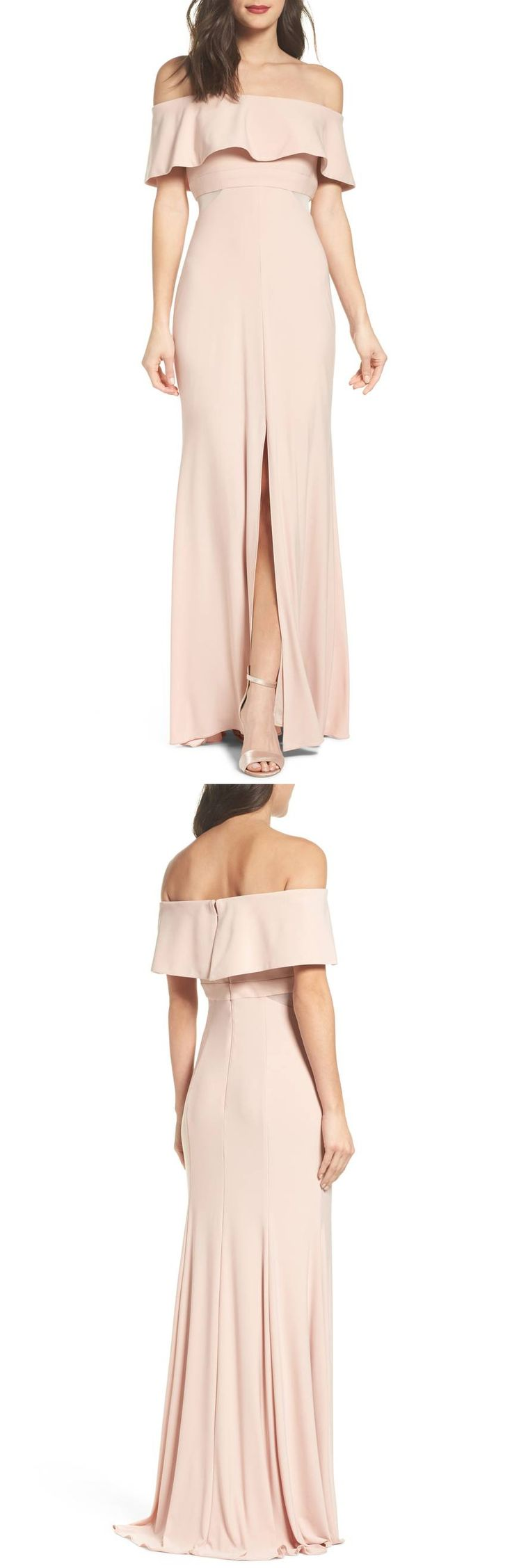Jersey Popover Gown by Xscape #dress  #formaldress #formalgown #eveninggown #fashion #womensfashion formal dress | formal dresses for teens |  Formal Dresses | formal dress |  Formal Dresses | Formal Dress Outfits |