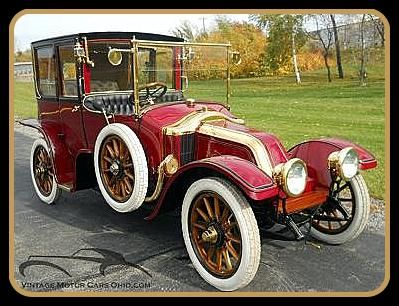 1912 Renault Coupe DeVille - Brass Era Automobile