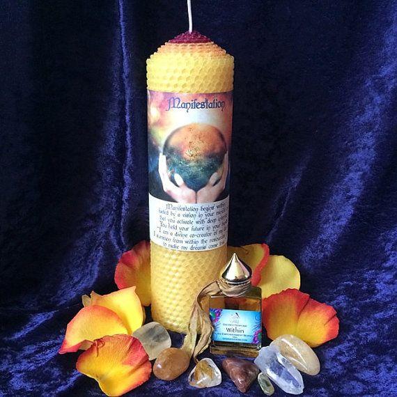 Manisfestation Ritual Set for the November Full Moon by TheSageGoddess